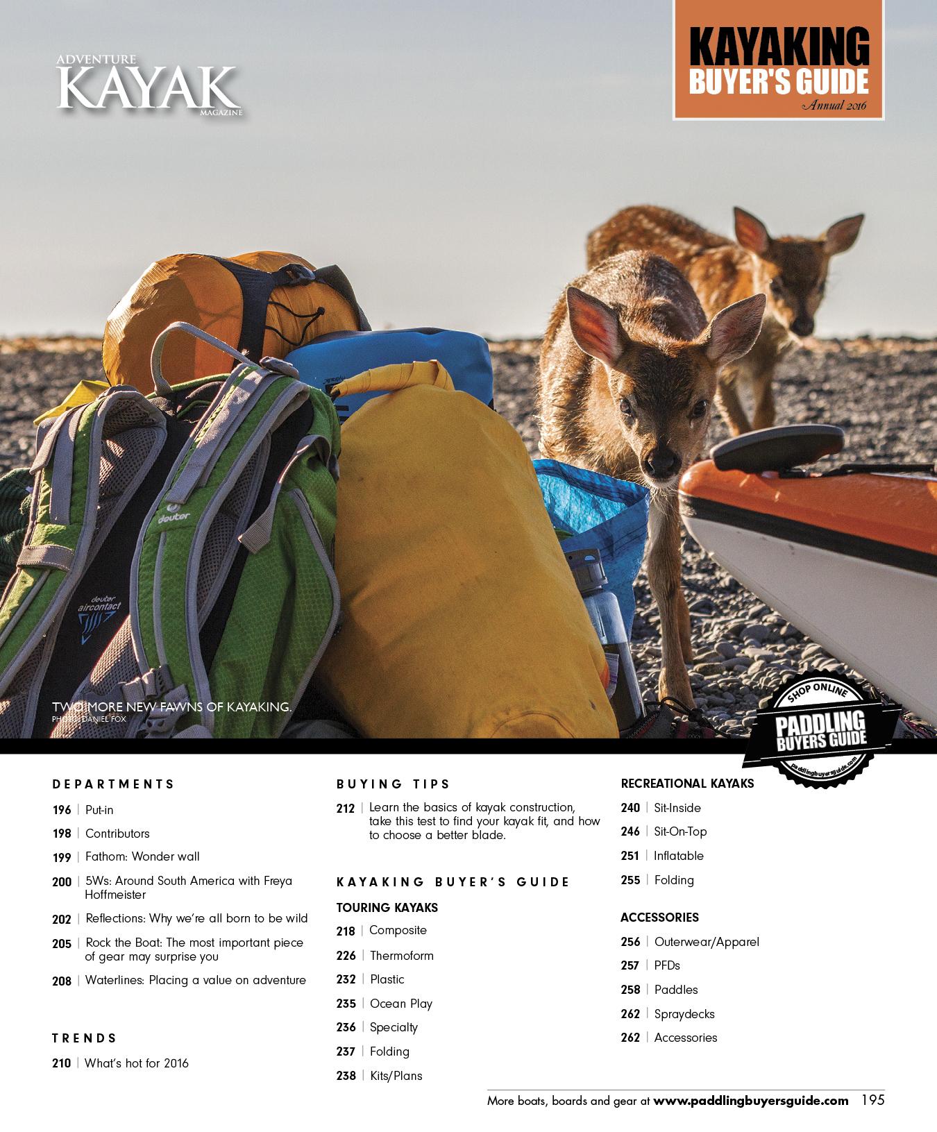 2016 Paddler Guide