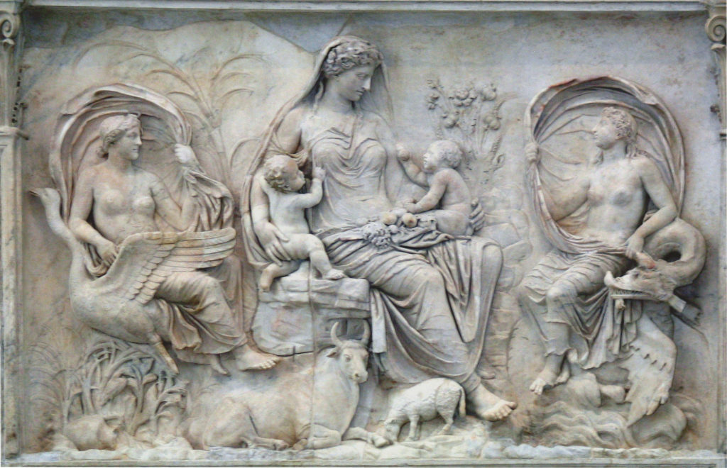 This image has an empty alt attribute; its file name is Tellus_-_Ara_Pacis-1024x660.jpg